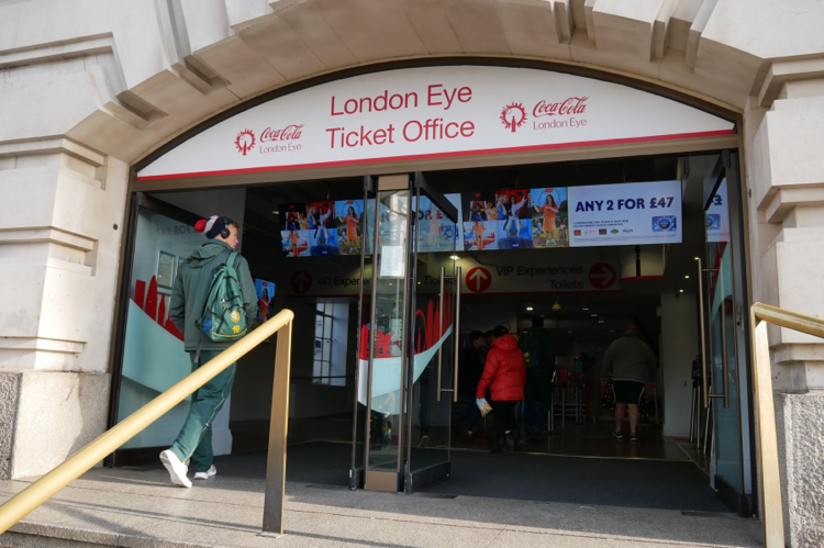 London Eye Ticket Office